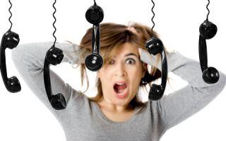 Боязнь телефонных разговоров и звонков