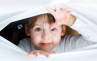 Особенности детских страхов